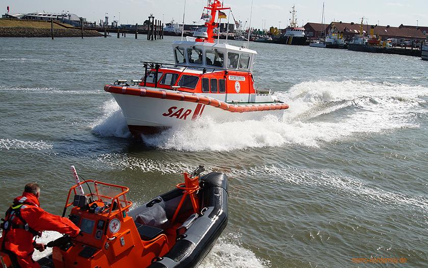 DGzRS im Norderneyer Hafen