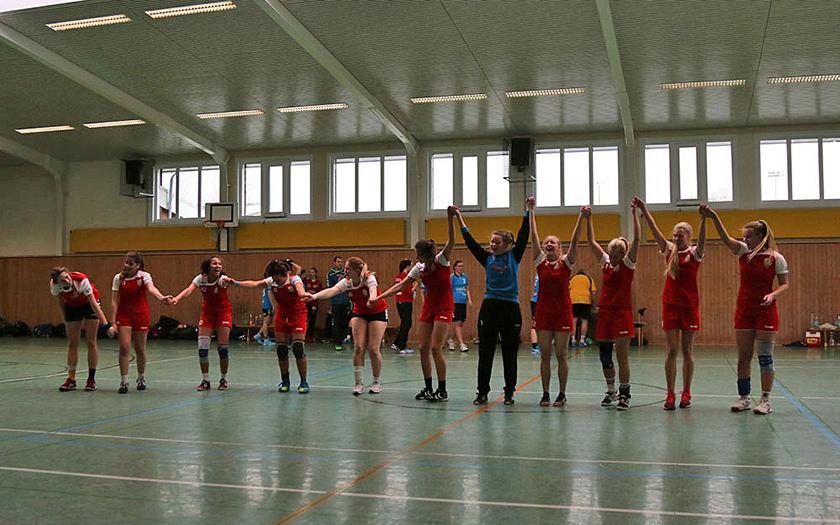 Handball-Damen siegreich