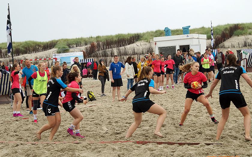 Beach Handballturnier Norderney 2019