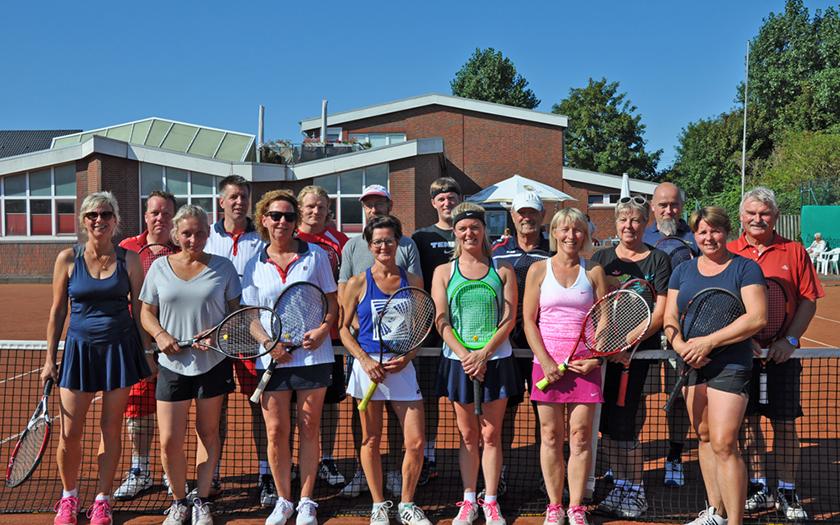 Tennis Vereinsmeister im Mixed