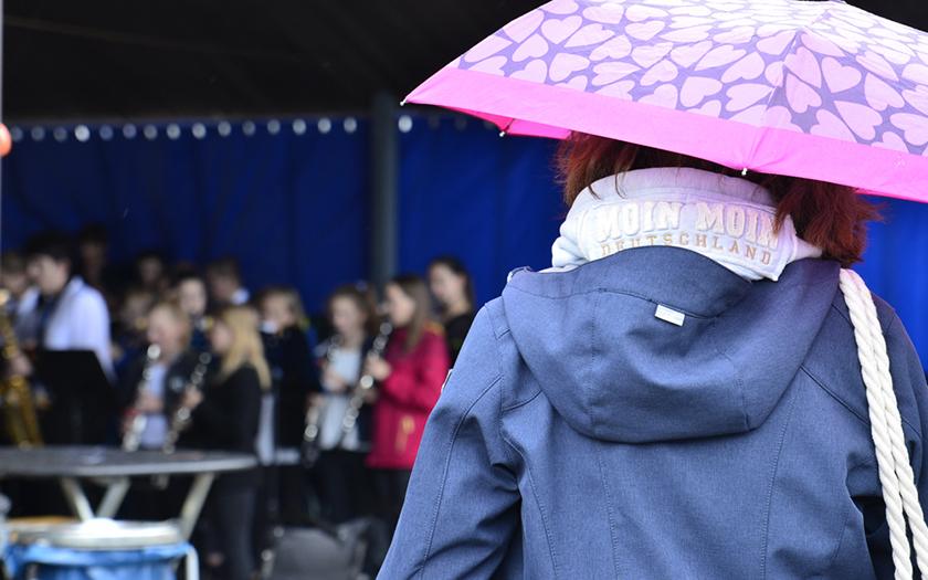 Museumsfest mit Regen