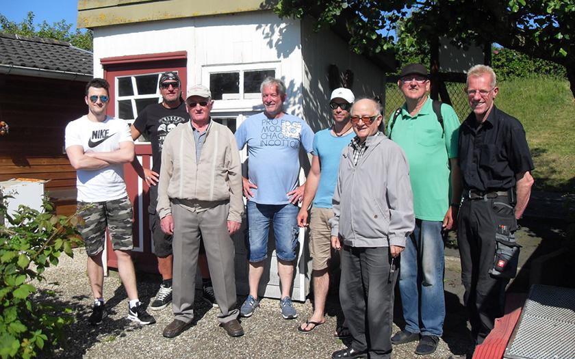 Der neue Vorstand des Kleingärtnervereins auf Norderney