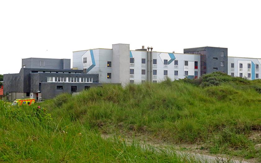 Ansicht des Norderneyer Krankenhaus