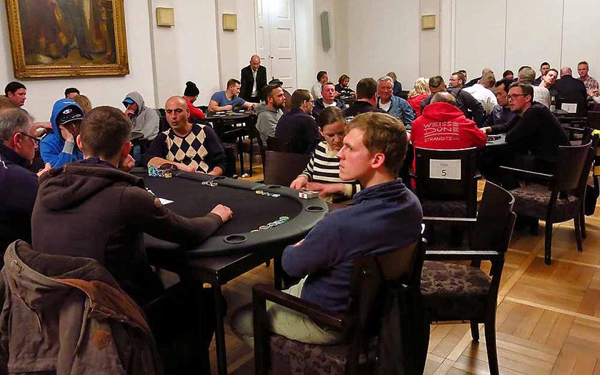 Pokerturnier der Lions