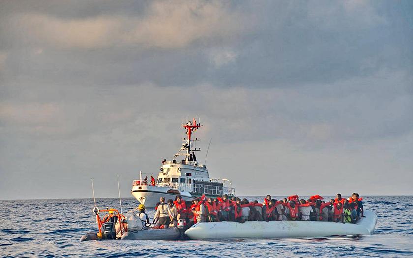Der Seenotretter Minden im Rettungseinsatz