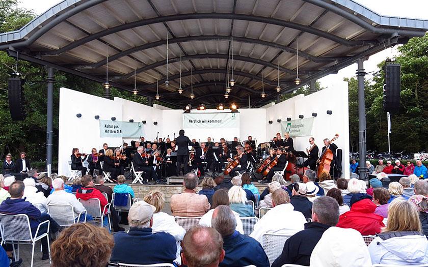 Konzert der Warschauer auf dem Kurplatz