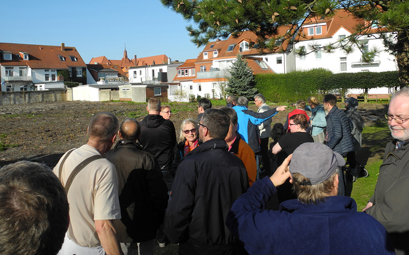 SPD spricht mit den Anliegern der Gartenstadt