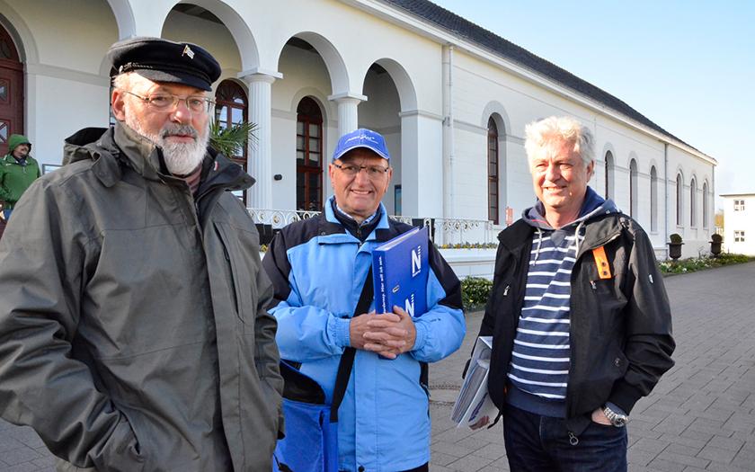 Die drei Stadtführer von Norderney