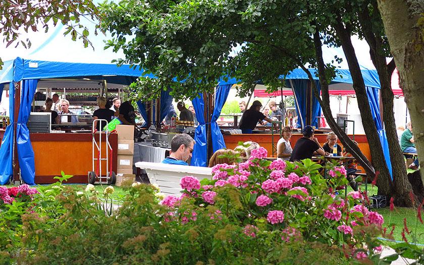 Weinfest auf dem Kurplatz
