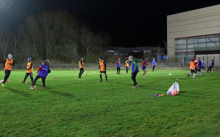Wintertraining der TuS-Fußball-Herren