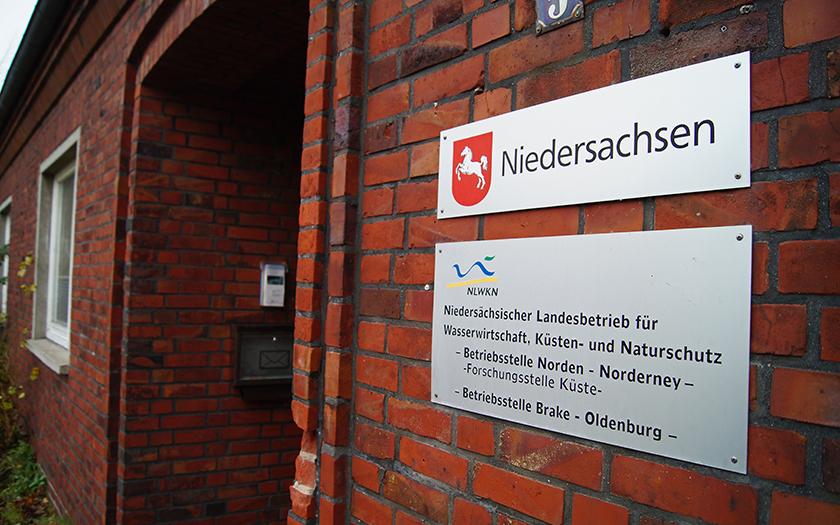 Eingang zur Forschungsstelle Küste auf Norderney