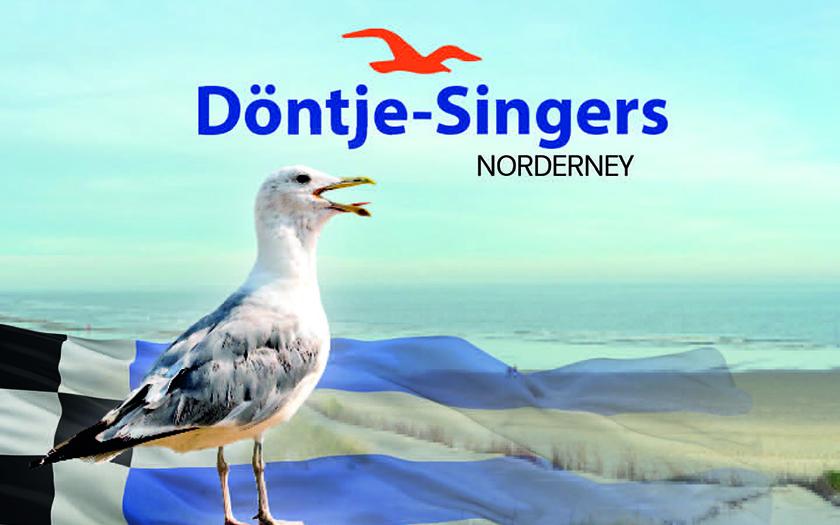 Ansicht der neuen CD von den Norderneyer Döntjes