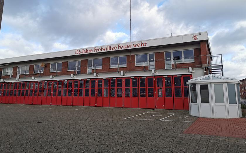 Ansicht des Feuerwehrhauses