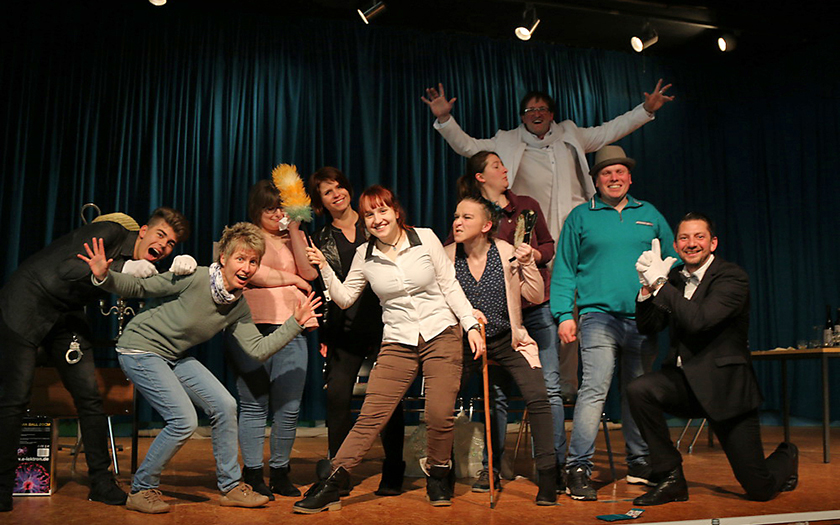 Darsteller des Norderneyer Laientheaters