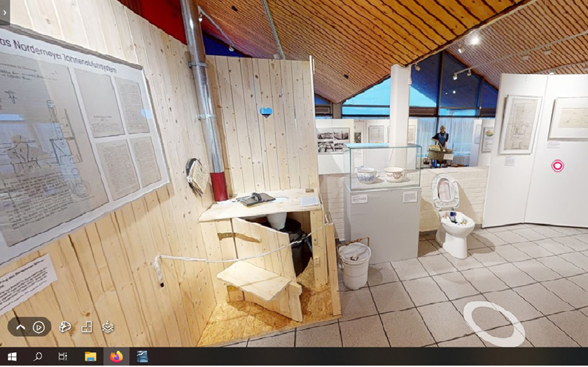 Die Sonderausstellung Brunnengeist und Wasserlinse des Museum Nordseeheilbad Norderney ist jetzt auch virtuell zu erleben.