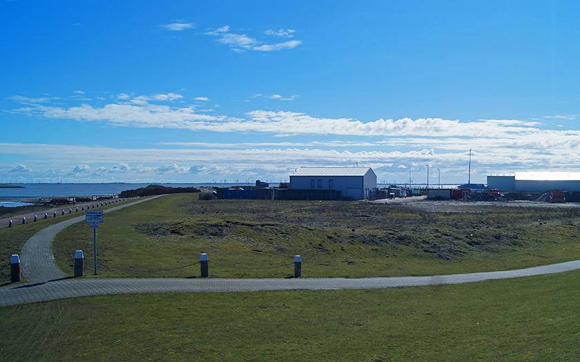 Hinterer Hafenbereich auf Norderney