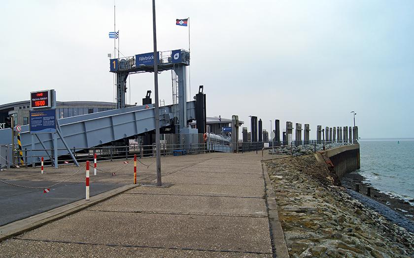 Bereich der Norderneyer Südmole