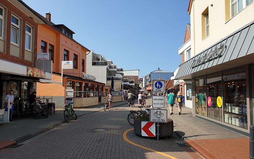 Teilbereich der Jann-Berghaus-Straße