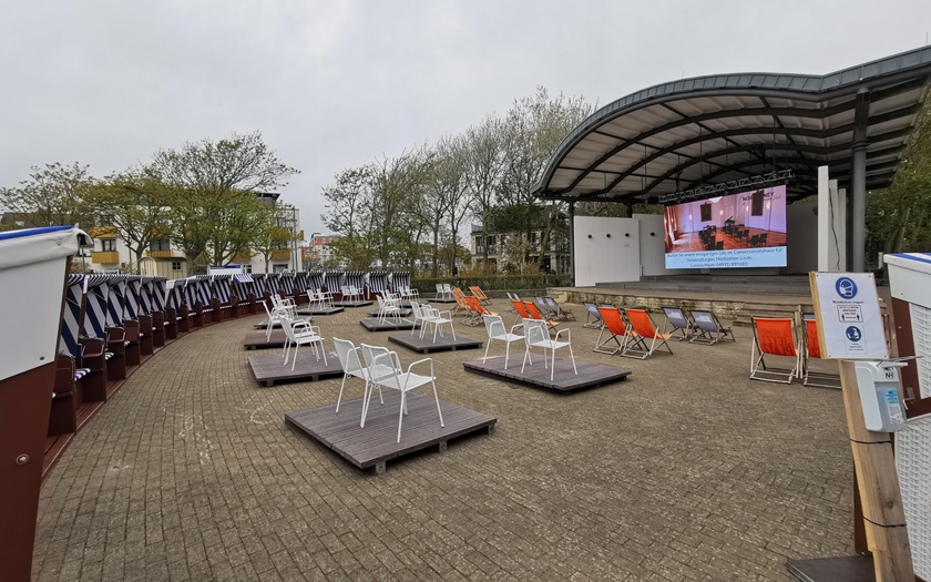 Konzertmuschel am Norderneyer Kurplatz