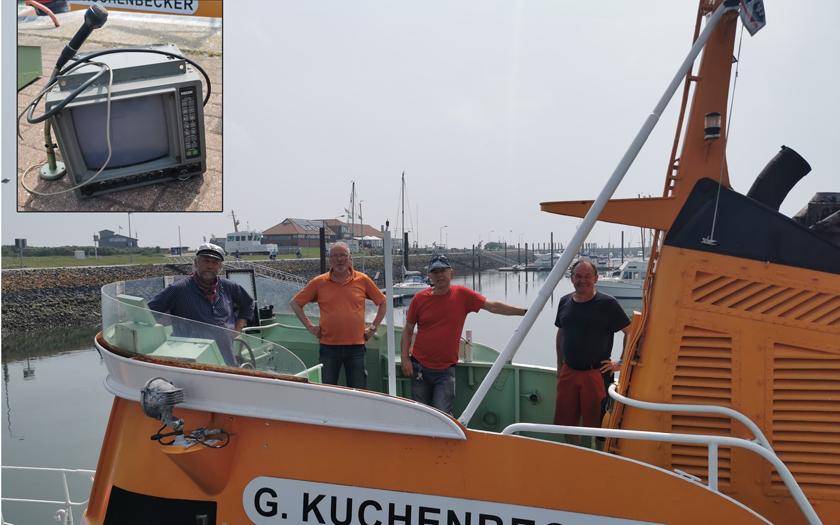 Die G. Kuchenbecker zu Besuch auf Norderney
