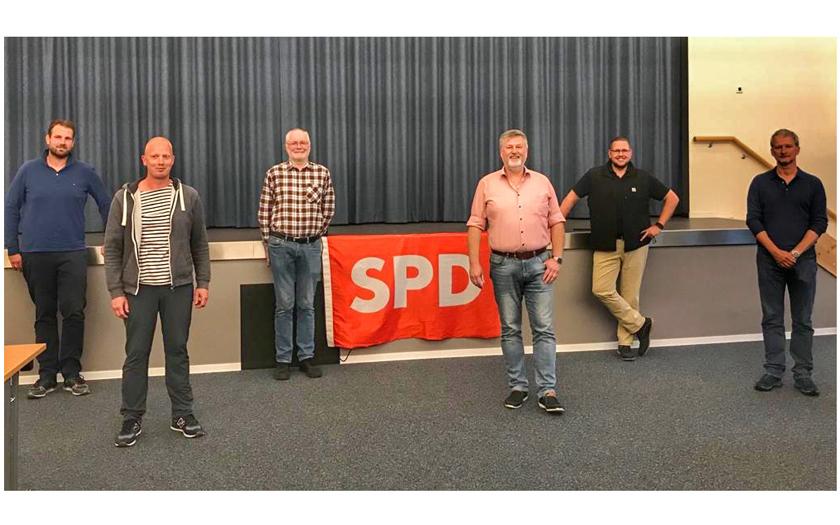 Der Vorstand des SPD-Ortsvereins Norderney