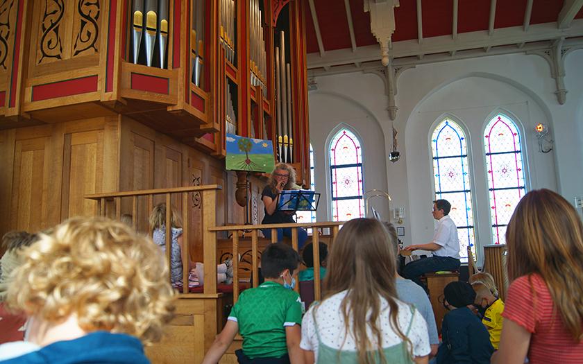 Aufführung des Orgelmärchens