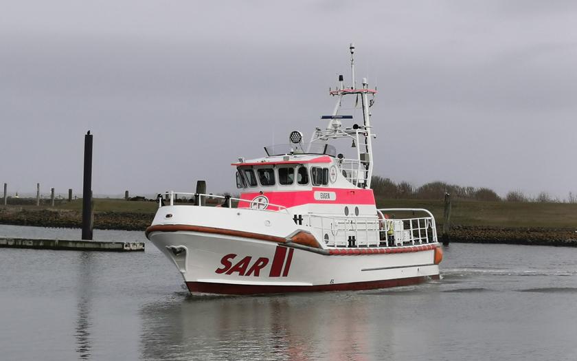 Die Eugen der DGzRS im Hafen von Norderney