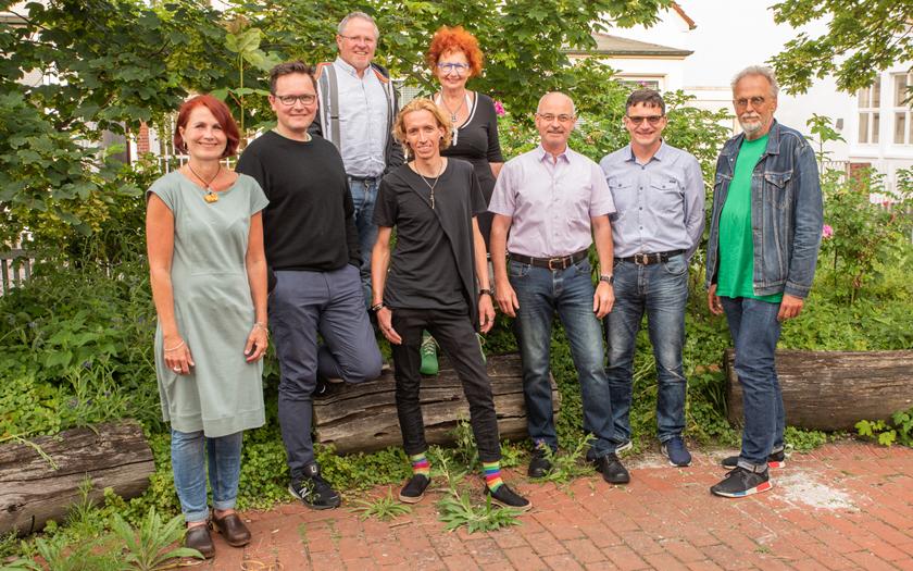 Die Kandidaten der Grünen-Ortsgruppe für die Kommunalwahl 2021