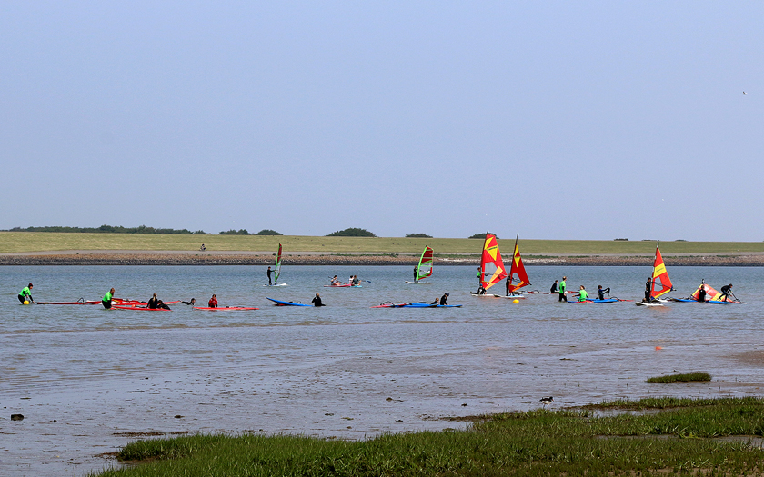 Kids Camp in der Norderneyer Surferbucht