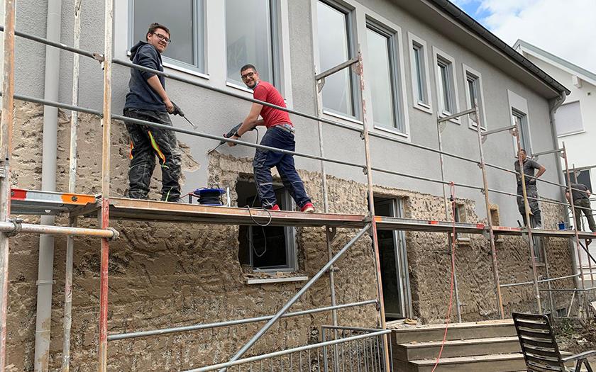 Norderneyer Handwerker helfen in Ahrweiler
