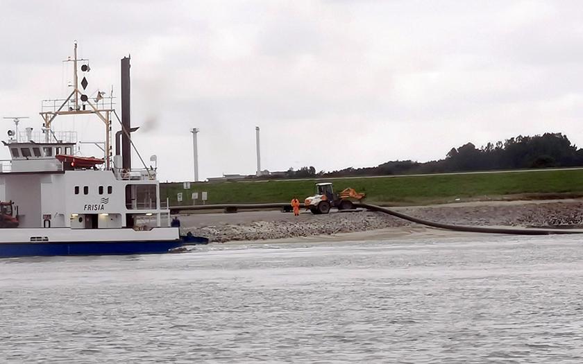 Kabelverlegung auf Norderney