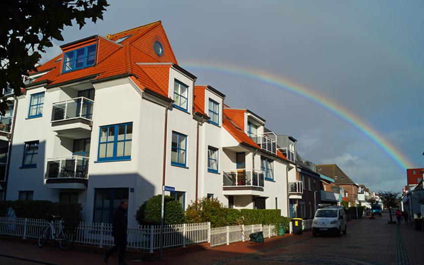 Regenbogen über Norderney