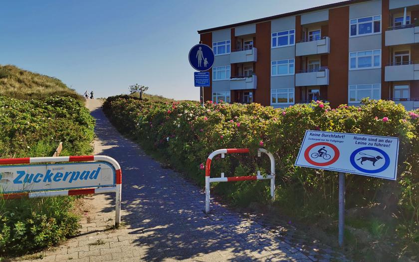Zuckerpad Aufgang Birkenweg